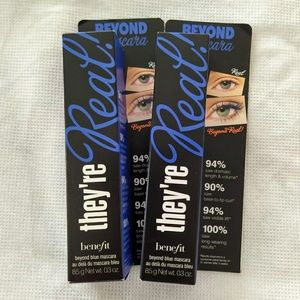 [2/$30] NWT Benefit Blue They're Real Mascara